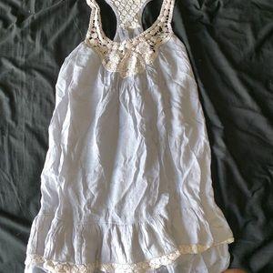 Ruffled sun dress